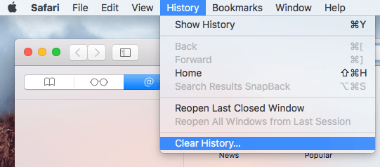 How To Clear Browsing History On Safari Internet Browser El Capitan Macos Faq