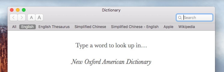dictionary-app-shows